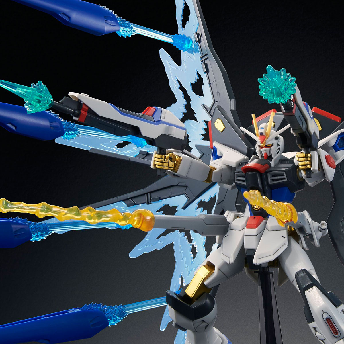 54930HGCE 1/144 ZGMF-X20A ストライクフリーダムガンダム 光の翼DXエディション [Strike Freedom Gundam (Revive Ver. Wing of Light DX Edition)]