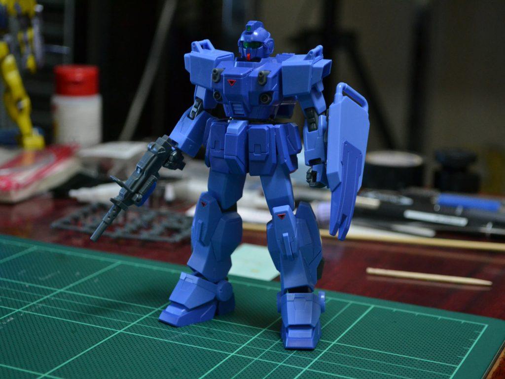"HGUC 1/144 RX-79BD-1 ブルーディスティニー1号機""EXAM"" 正面"