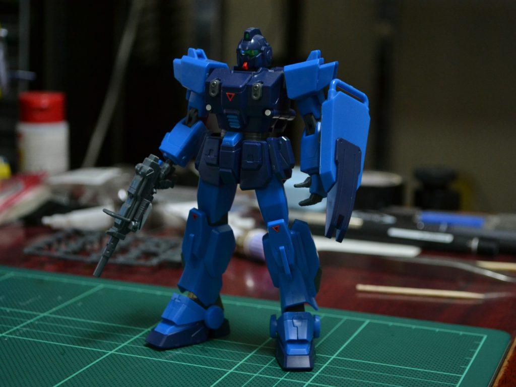 HGUC 1/144 RX-79BD-1 ブルーディスティニー1号機 [Blue Destiny Unit 1] 正面
