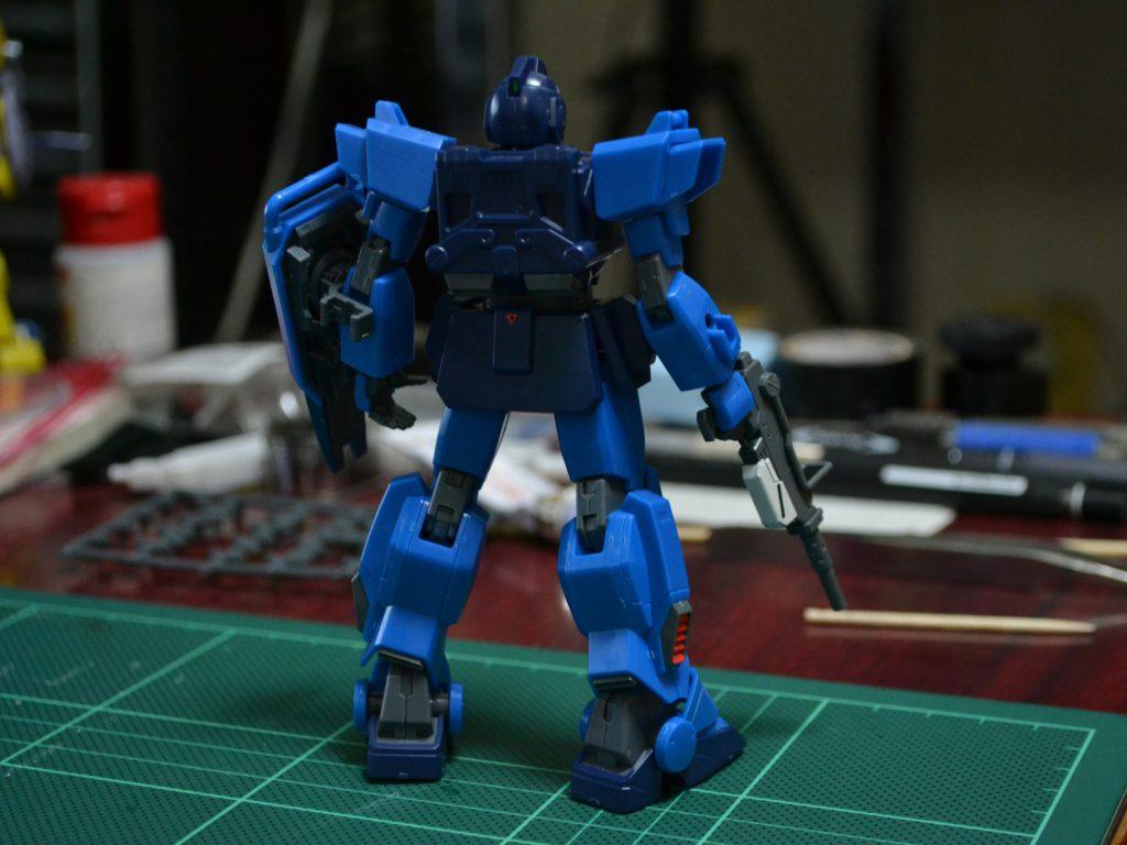 HGUC 1/144 RX-79BD-1 ブルーディスティニー1号機 [Blue Destiny Unit 1] 背面