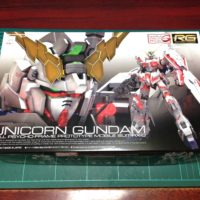 RG 1/144 RX-0 ユニコーンガンダム [Unicorn Gundam] 4549660167419 パッケージ