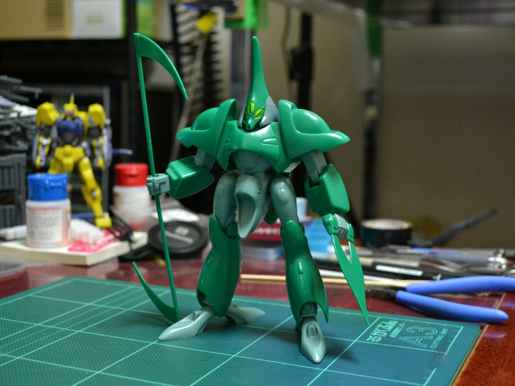 1/144 ZM-D11S アビゴル 正面