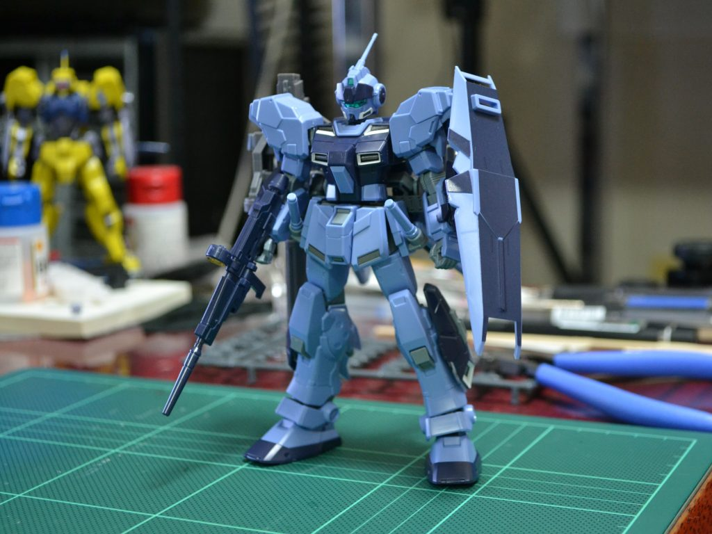 HGUC 1/144 RX-80PR ペイルライダー(空間戦仕様) [Pale Rider (Space Type)] 正面