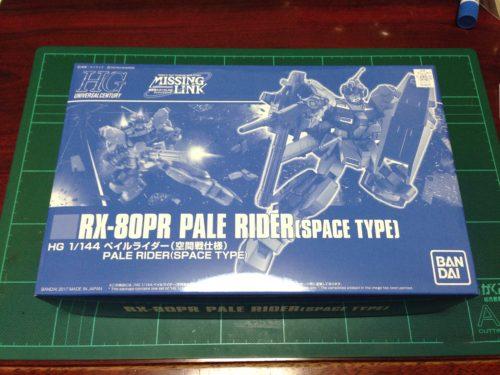 HGUC 1/144 RX-80PR ペイルライダー(空間戦仕様) [Pale Rider (Space Type)]