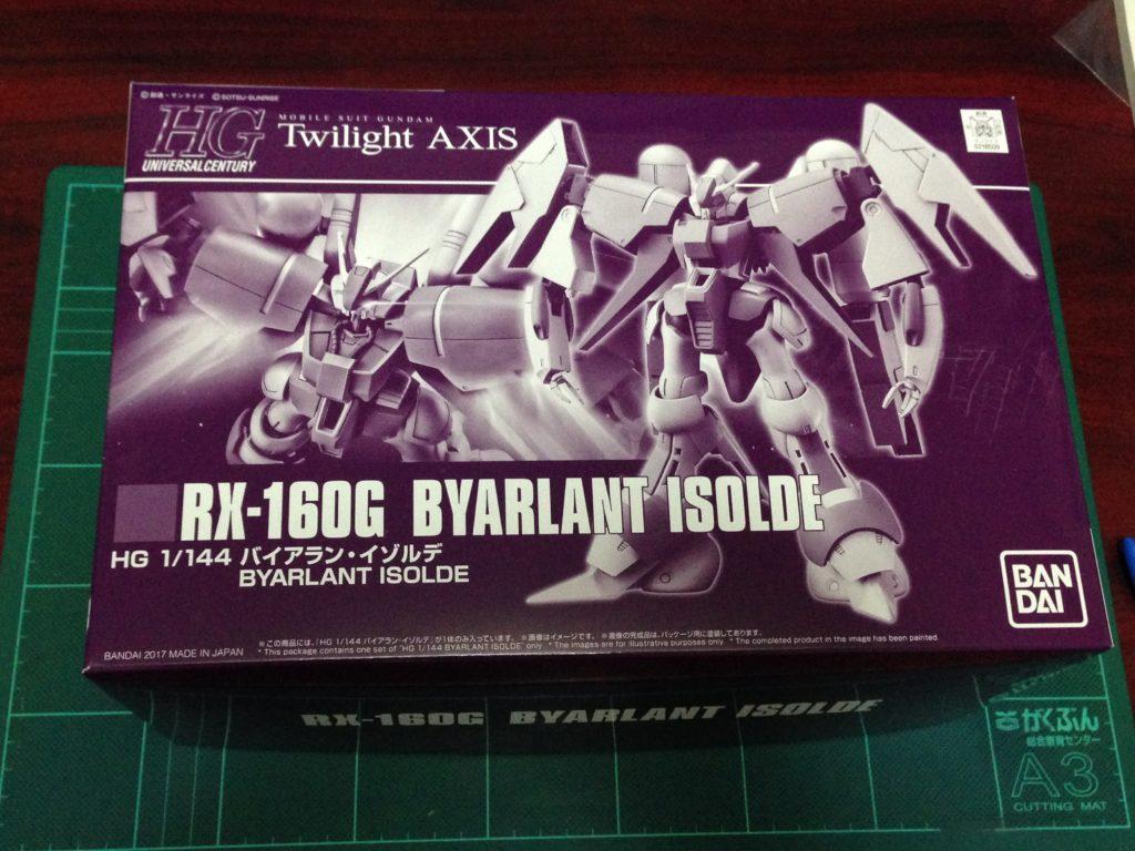 HGUC 1/144 RX-160G バイアラン・イゾルデ パッケージ