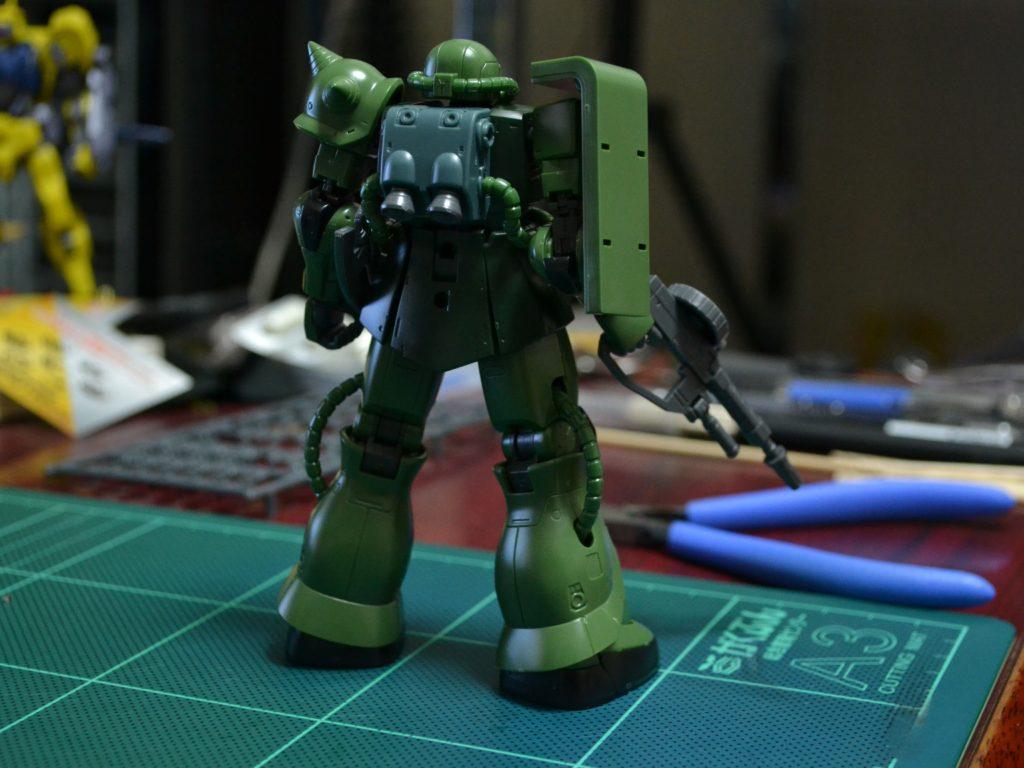 HG 1/144 MS-06C ザクII C型/C-5型 [Zaku II Type C / Type C-5] [TheORIGIN] 背面