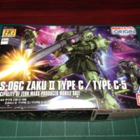 HG 1/144 MS-06C ザクII C型/C-5型 [Zaku II Type C / Type C-5] [TheORIGIN]