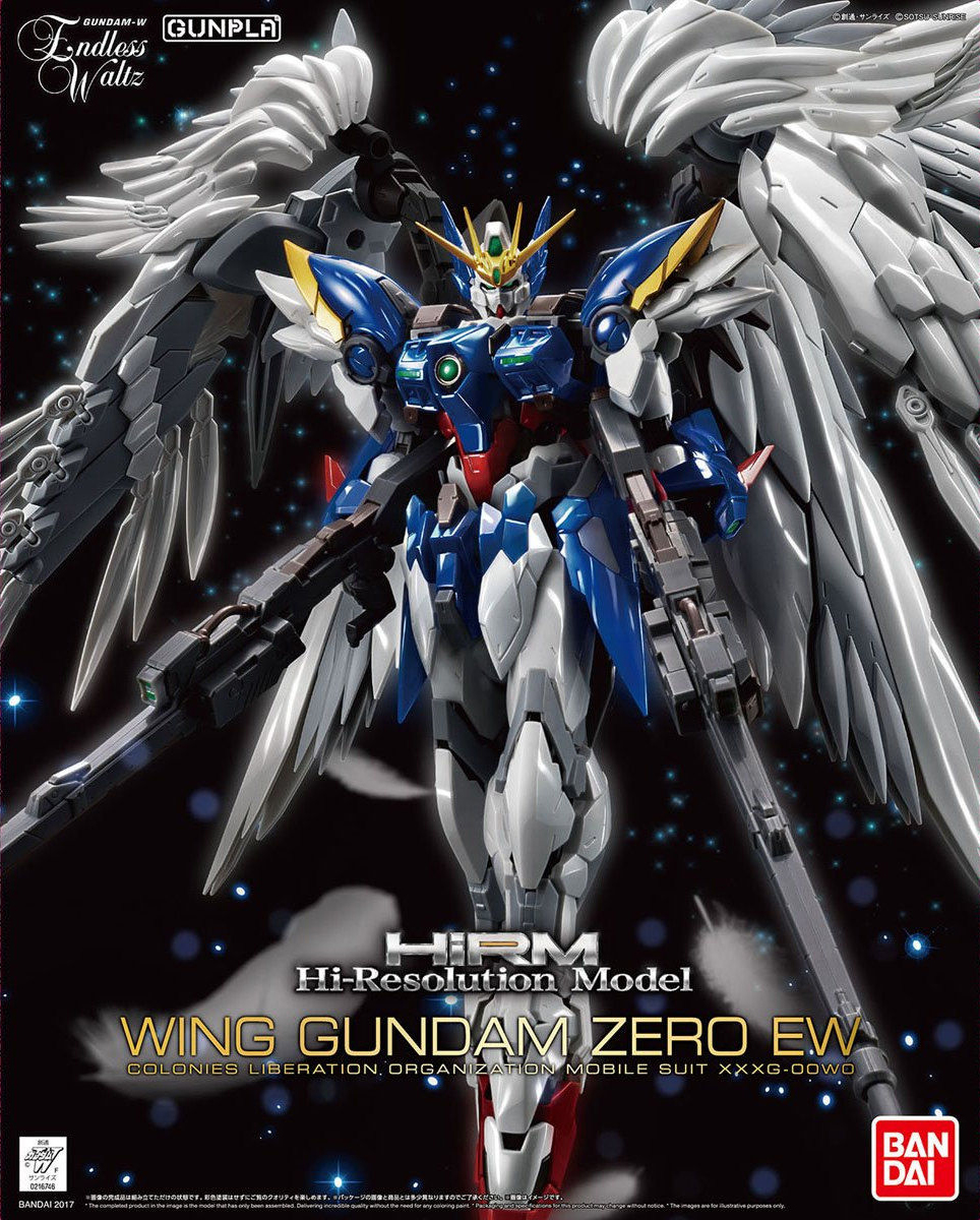 ハイレゾリューションモデル(Hi-Resolution Model) 1/100 XXXG-00W0 ウイングガンダムゼロ(EW)[Wing Gundam Zero EW]