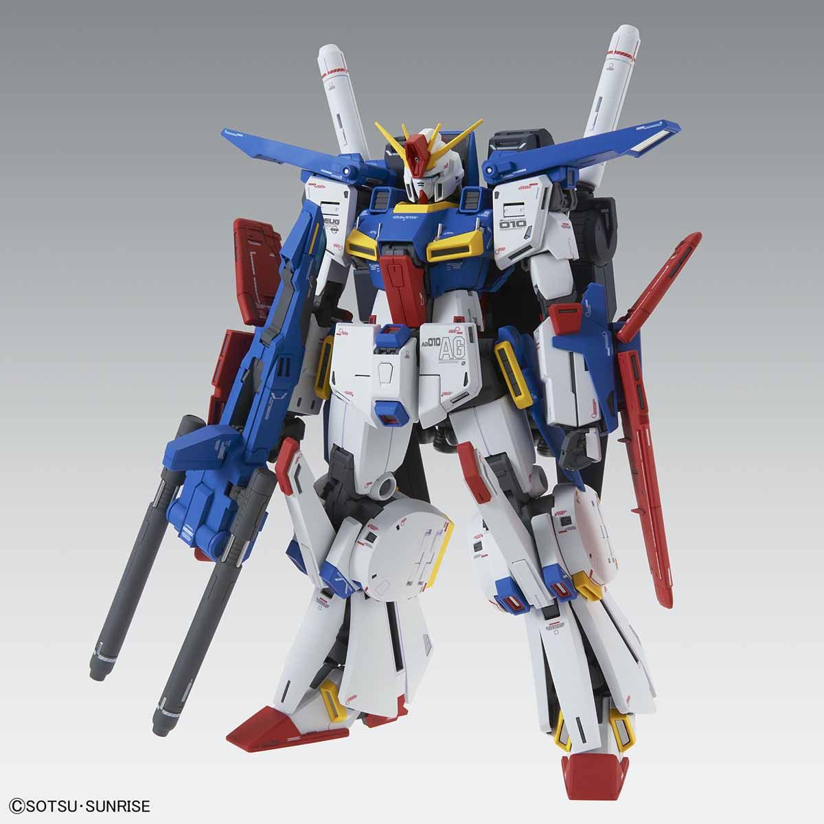 "MG 1/100 MSZ-010 ダブルゼータガンダム Ver.Ka [ZZ Gundam ""Ver.Ka""] 0224519"