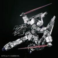 HGUC 1/144 RX-0 ユニコーンガンダム3号機 フェネクス type RC (UNモード) シルバーコーティングVer. [Unicorn Gundam 03 Phenex Type RC [Unicorn Mode] Silver Coating Ver.] 公式画像6