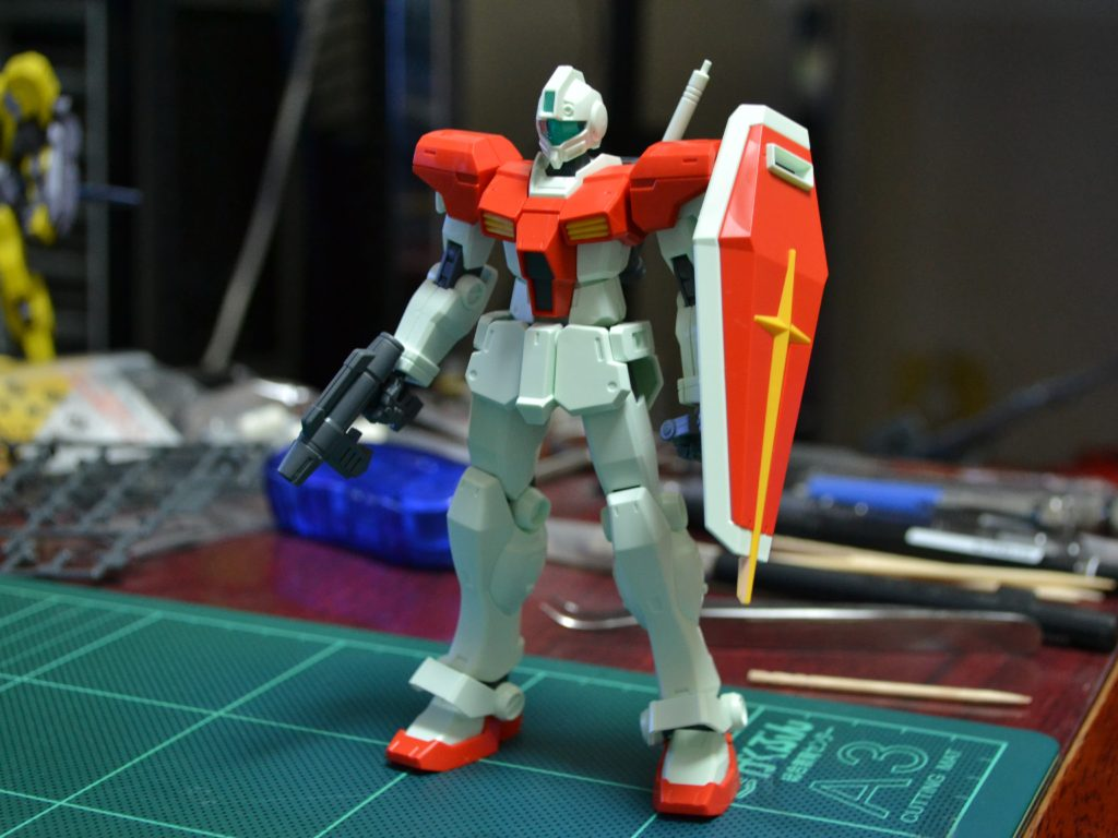 HGBF 1/144 GM/GM 正面