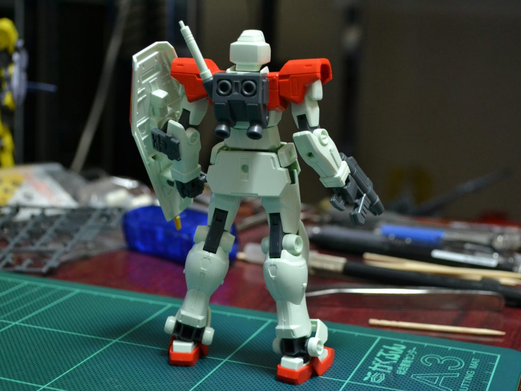 HGBF 1/144 GM/GM 背面