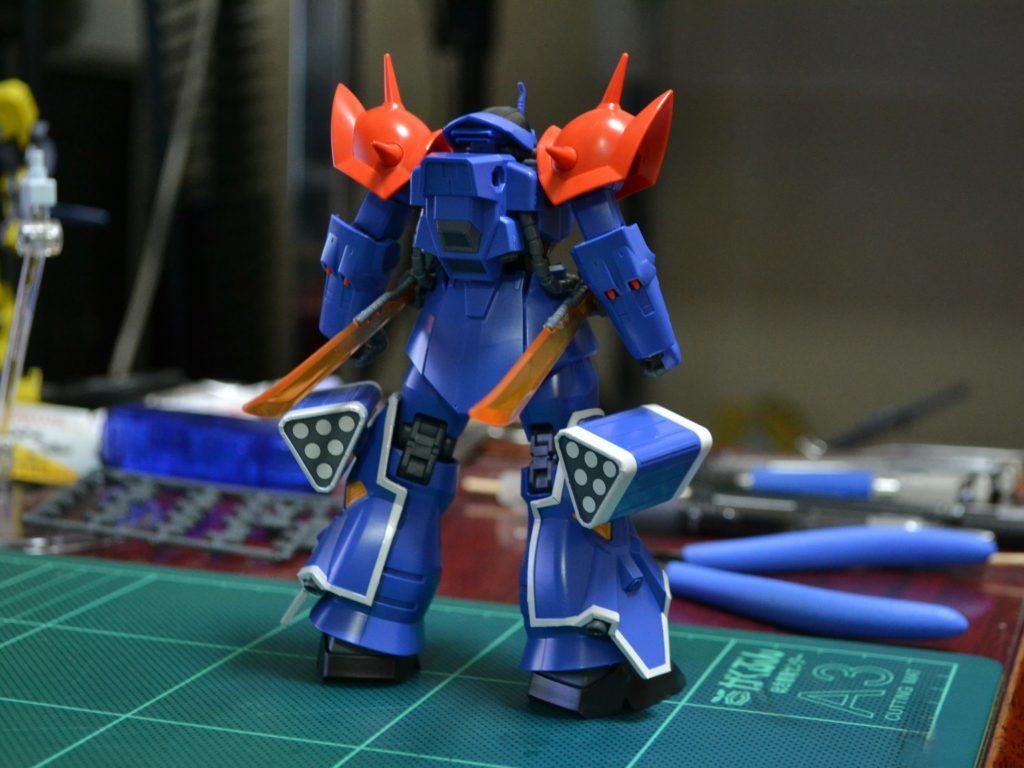 HGUC 1/144 MS-08TX[EXAM] イフリート改 背面