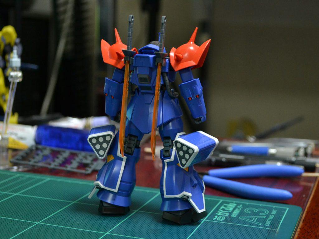 HGUC 1/144 MS-08TX[EXAM] イフリート改 [Efreet Custom] 背面