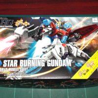 HGBF 1/144 SB-011 スターバーニングガンダム [Star Burning Gundam]