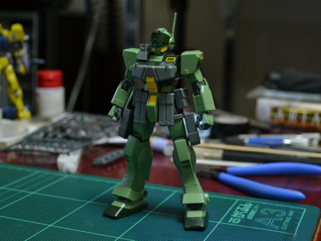 HGBF 1/144 RGM-79K9 ジムスナイパーK9 正面