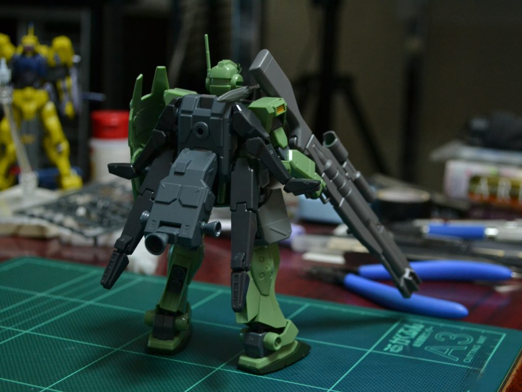 HGBF 1/144 RGM-79K9 ジムスナイパーK9 背面