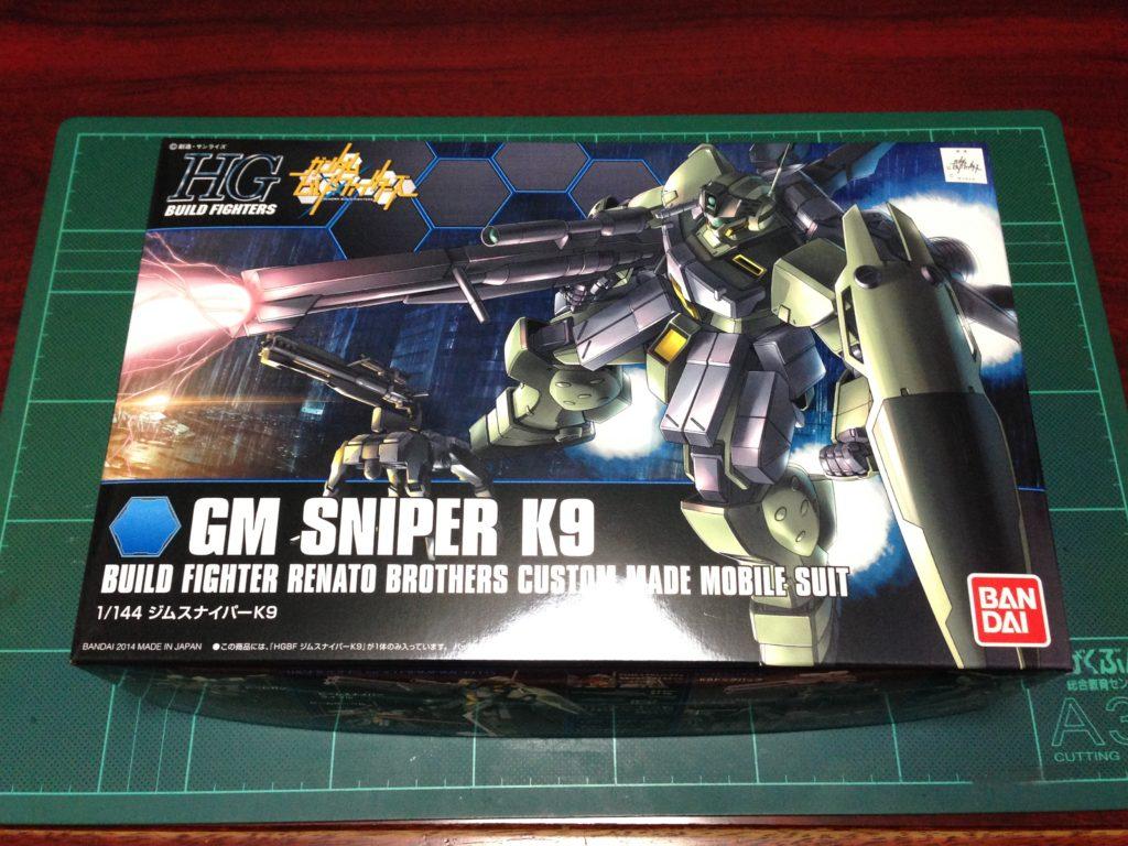HGBF 1/144 RGM-79K9 ジムスナイパーK9 パッケージ