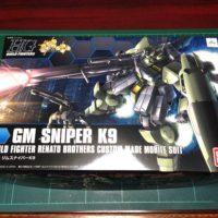 HGBF 1/144 RGM-79K9 ジムスナイパーK9 [GM Sniper K9]