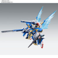 "MG 1/100 V2ガンダム Ver.Ka用 拡張エフェクトユニット ""光の翼"" [Expansion Effect Unit ""Wings of Light"" for LM314V21 Victory Two Gundam ""Ver.Ka""] 公式画像11"