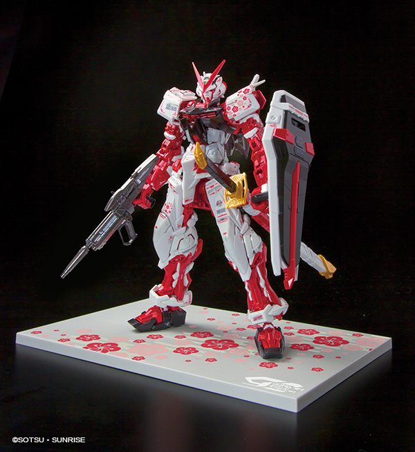 RG 1/144 GUNDAM ASTRAY RED FLAME Ver. GUNDAM docks at Taiwan