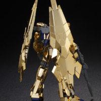 HGUC 1/144 ユニコーンガンダム3号機 フェネクス(UNモード)ゴールドコーティングVer. 公式画像2