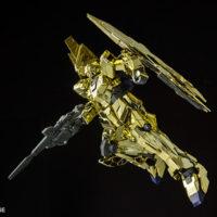 HGUC 1/144 ユニコーンガンダム3号機 フェネクス(UNモード)ゴールドコーティングVer. 公式画像3