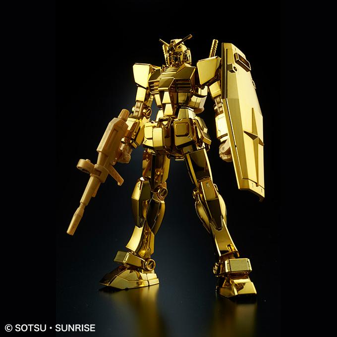 HG 1/144 RX-78-2 ガンダム[ゴールドコーティング]