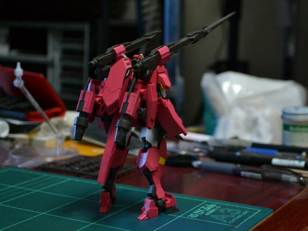 HG 1/144 鉄華団コンプリートセット [Tekkadan Complete Set] 背面