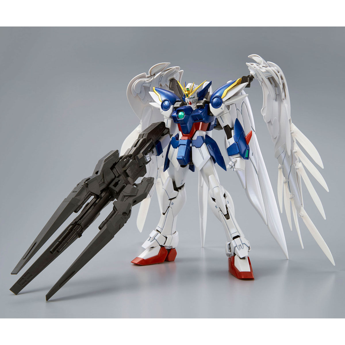 "59010MG 1/100 XXXG-00W0 ウイングガンダムゼロ EW & ドライツバーク [スペシャルコーティング] [Wing Gundam Zero EW & Drei Zwerg ""Special Coating""]"