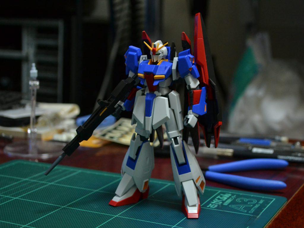 HGUC 1/144 MSZ-006 ゼータガンダム(ウェイブシューター) [Zeta Gundam (Wave Shooter Equipment Type)] 正面