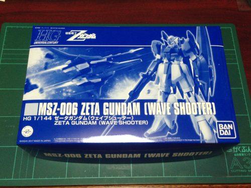 HGUC 1/144 MSZ-006 ゼータガンダム(ウェイブシューター) [Zeta Gundam (Wave Shooter Equipment Type)]