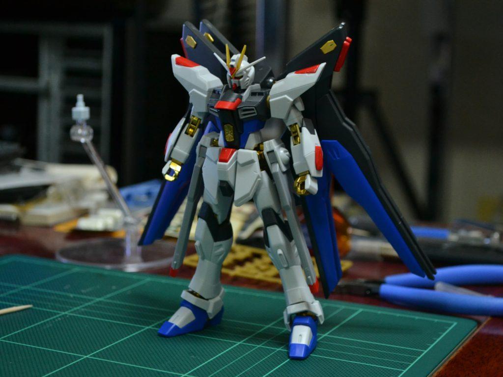 HGCE 1/144 ZGMF-X20A ストライクフリーダムガンダム 光の翼DXエディション [Strike Freedom Gundam (Revive Ver. Wing of Light DX Edition)] 正面