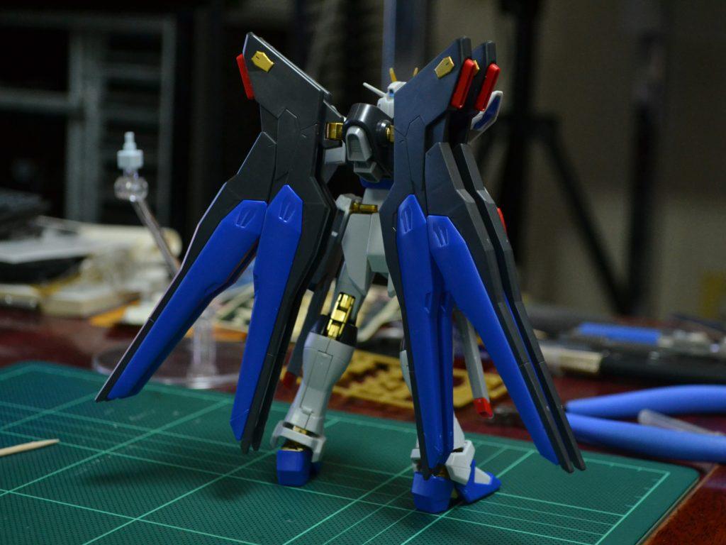 HGCE 1/144 ZGMF-X20A ストライクフリーダムガンダム 光の翼DXエディション [Strike Freedom Gundam (Revive Ver. Wing of Light DX Edition)] 背面