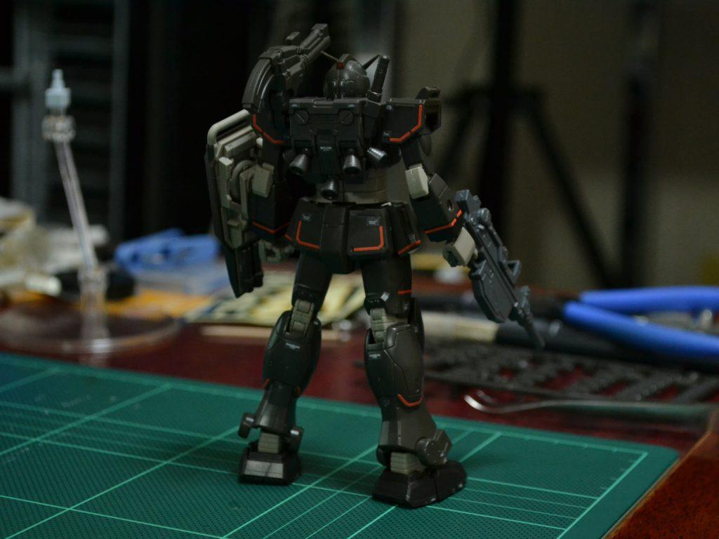 HG 1/144 RX-78-01[N]局地型ガンダム(北米戦線仕様) [Gundam Local Type (North American Type)] [TheORIGIN] 背面