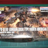 HG 1/144 RX-78-01[N]局地型ガンダム(北米戦線仕様) [Gundam Local Type (North American Type)] [TheORIGIN] 0218428 5059153 4549660184287 4573102591531
