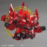 SDガンダム BB戦士 ガンダムベース限定 フルアーマー・ユニコーンガンダム& ネオ・ジオング [クリアカラー] [The Gundam Base Limited Full Armor Unicorn Gundam & Neo Zeong [Clear Color]] 公式画像5
