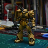 HG 1/144 MS-06CK ザク・ハーフキャノン [Zaku Half Cannon] [TheORIGIN]