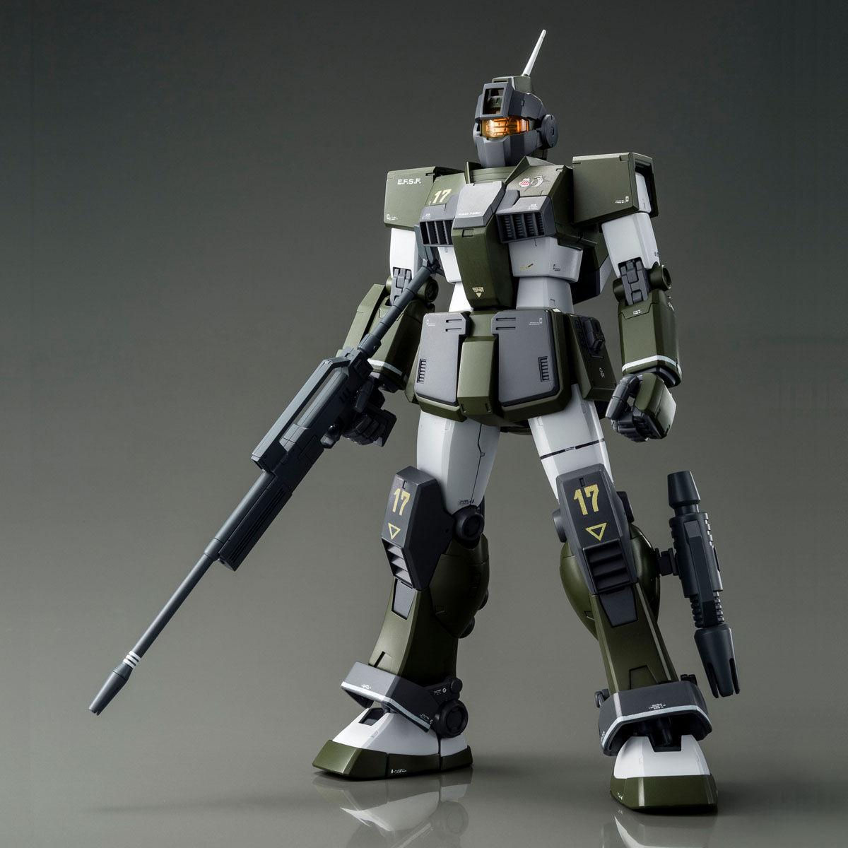 MG 1/100 RGM-79SC ジム・スナイパーカスタム (テネス・A・ユング機) [GM Sniper Custom Tenneth A. Jung's Custom]