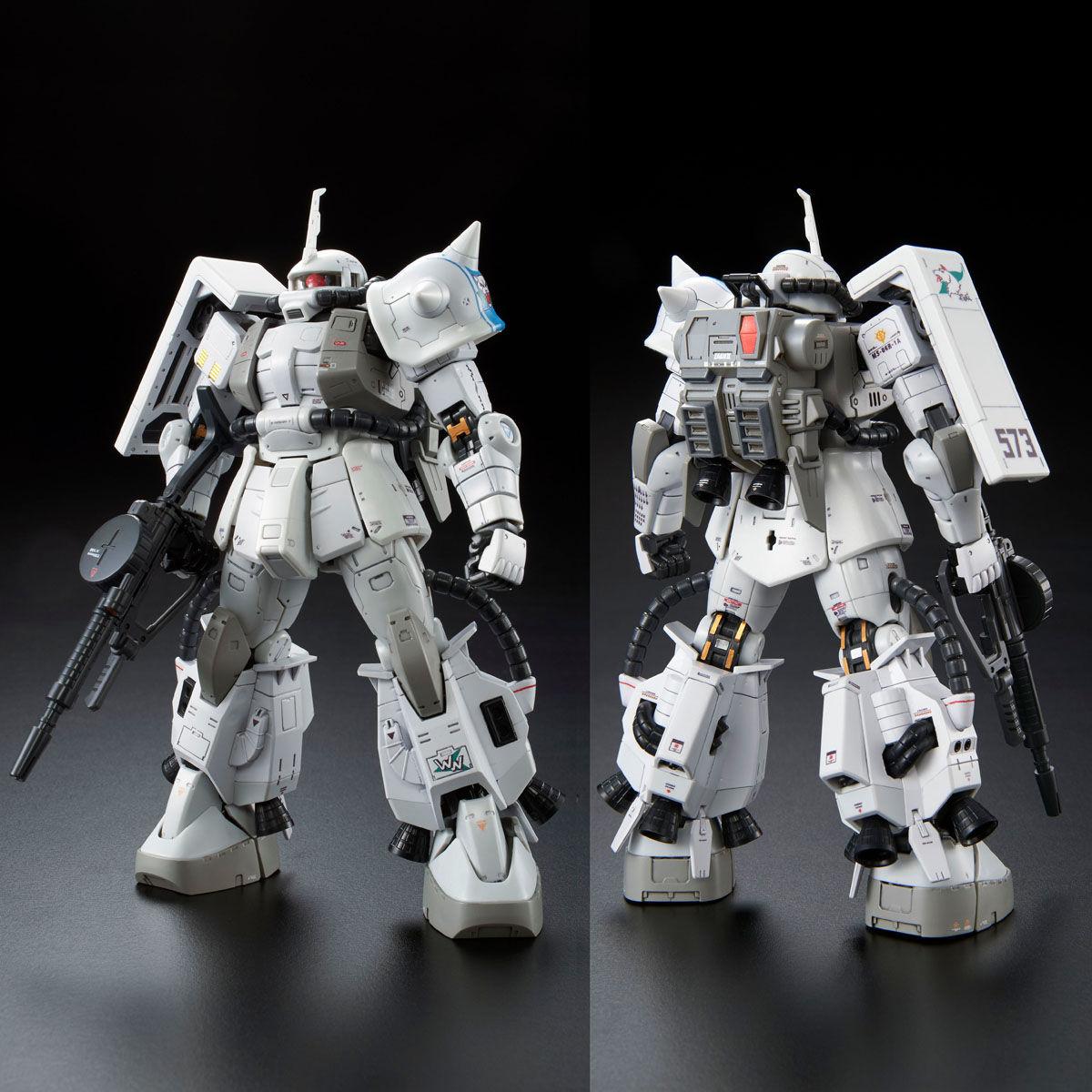 RG 1/144 MS-06R-1A シン・マツナガ専用ザクII [Shin Matsunaga's ZakuII]