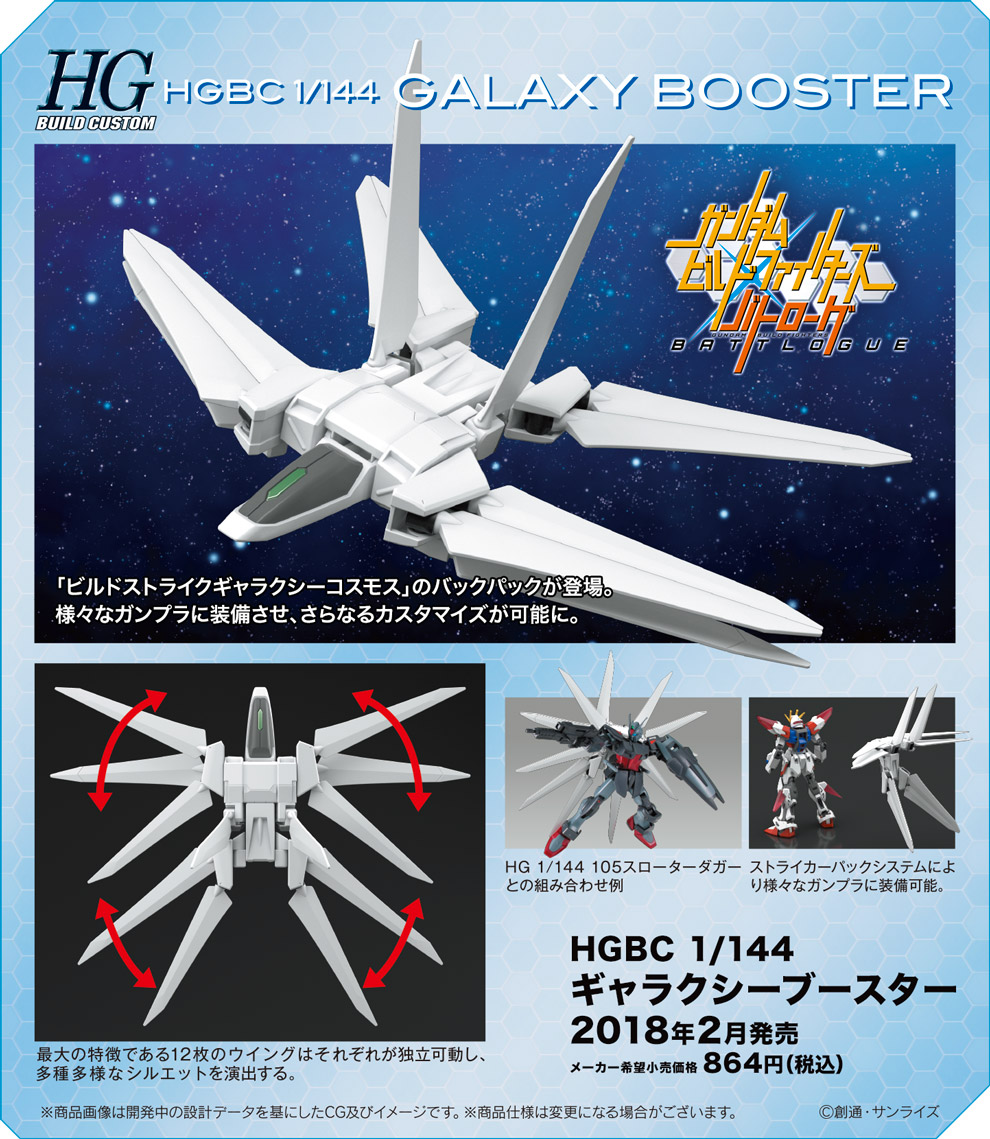 HGBC 033 1/144 ギャラクシーブースター [Galaxy Booster] 公式商品説明(画像)