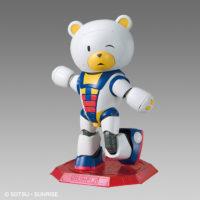 HG 1/144 ガンダムベース限定 ベアッガイIII [トリコロールペイント] [The Gundam Base Limited BeargguyIII [Tricolor Paint]] 公式画像1