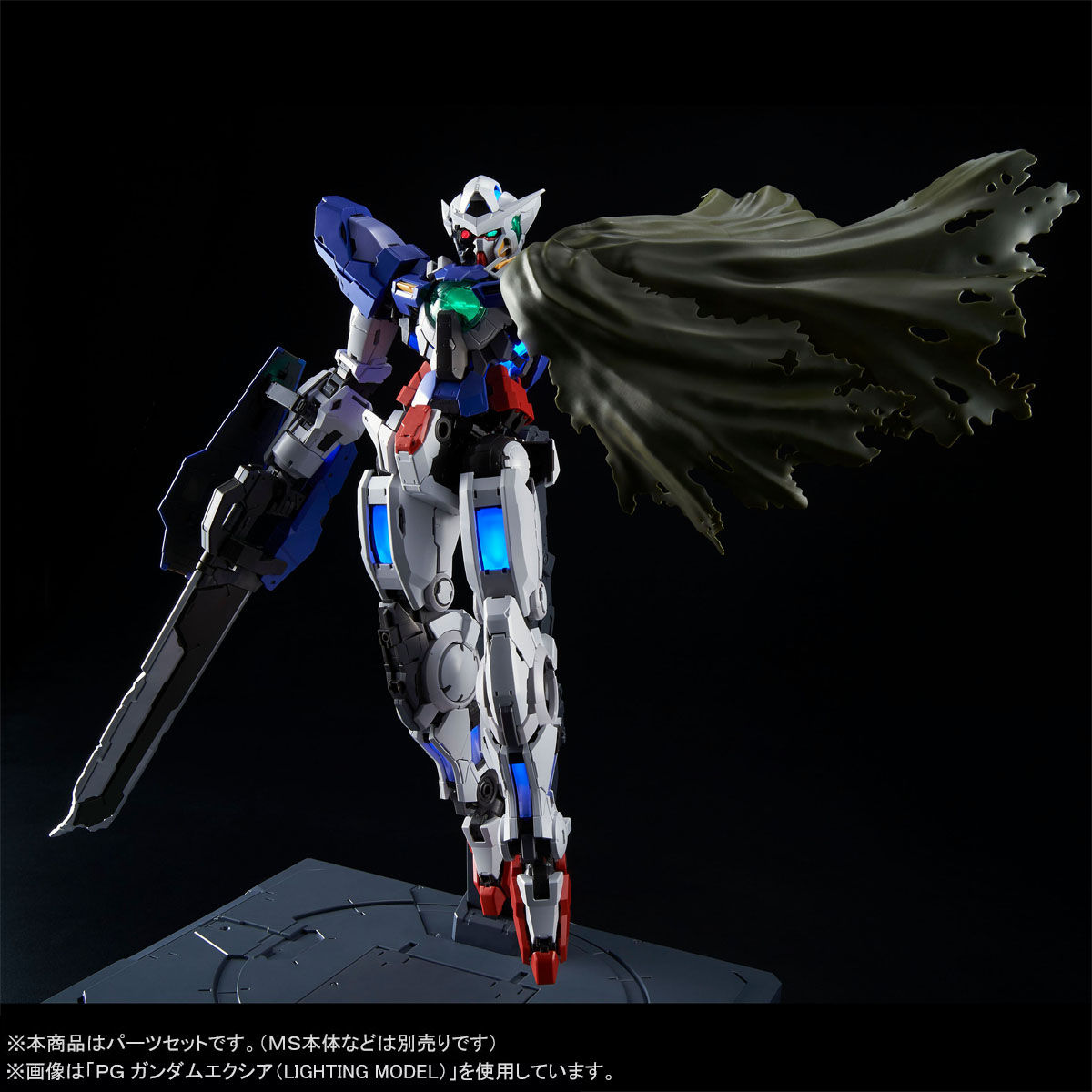 1//60 PG Gundam Exia Repair PARTS SET MS GN-001RE Gundam 00 BANDAI NEW