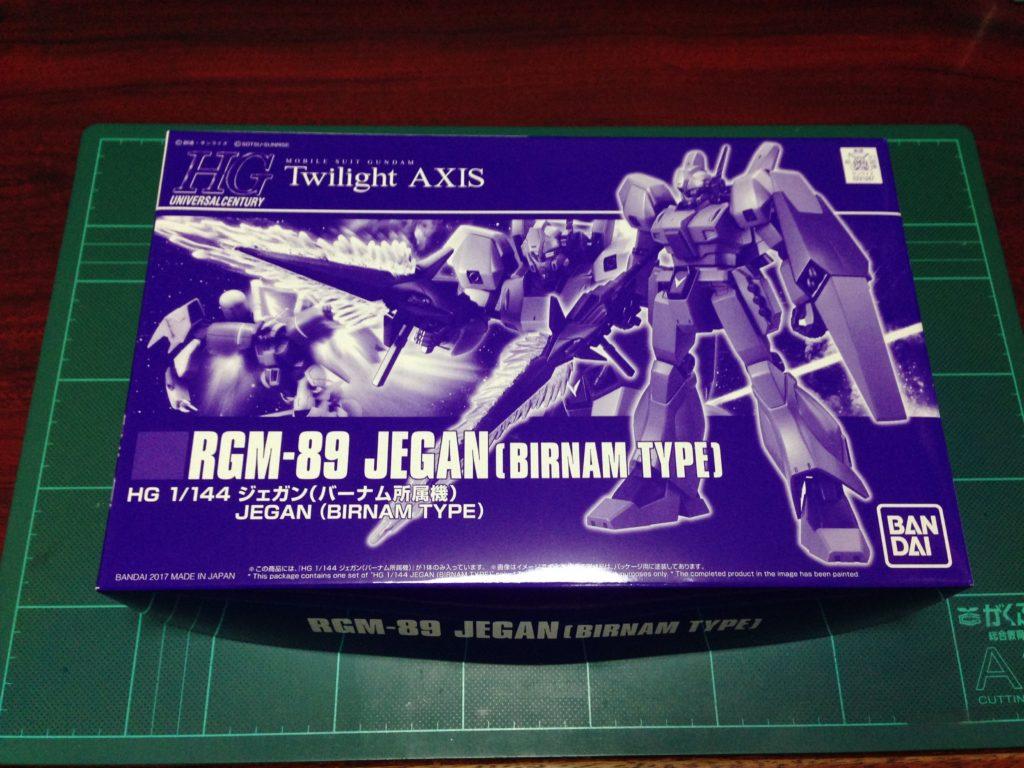 HGUC 1/144 RGM-89 ジェガン(バーナム所属機) パッケージ