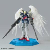 "RG 1/144 ガンダムベース東京限定 ウイングガンダムゼロ EW [クリアカラー] ""The Gundam Base Tokyo Limited Wing Gundam Zero EW [Clear Color]"" 公式画像9"