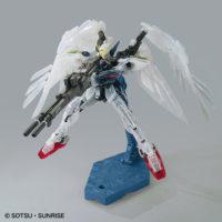 "RG 1/144 ガンダムベース東京限定 ウイングガンダムゼロ EW [クリアカラー] ""The Gundam Base Tokyo Limited Wing Gundam Zero EW [Clear Color]"" 公式画像11"
