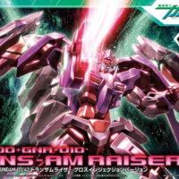 HG 1/144 GN-0000+GNR-010 トランザムライザー グロスインジェクションバージョン [Trans-Am Raiser] パッケージ