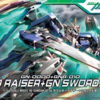 HG 1/144 GN-0000+GNR-010 ダブルオーライザー+GNソードIII [00 Raiser + GN Sword III] パッケージ