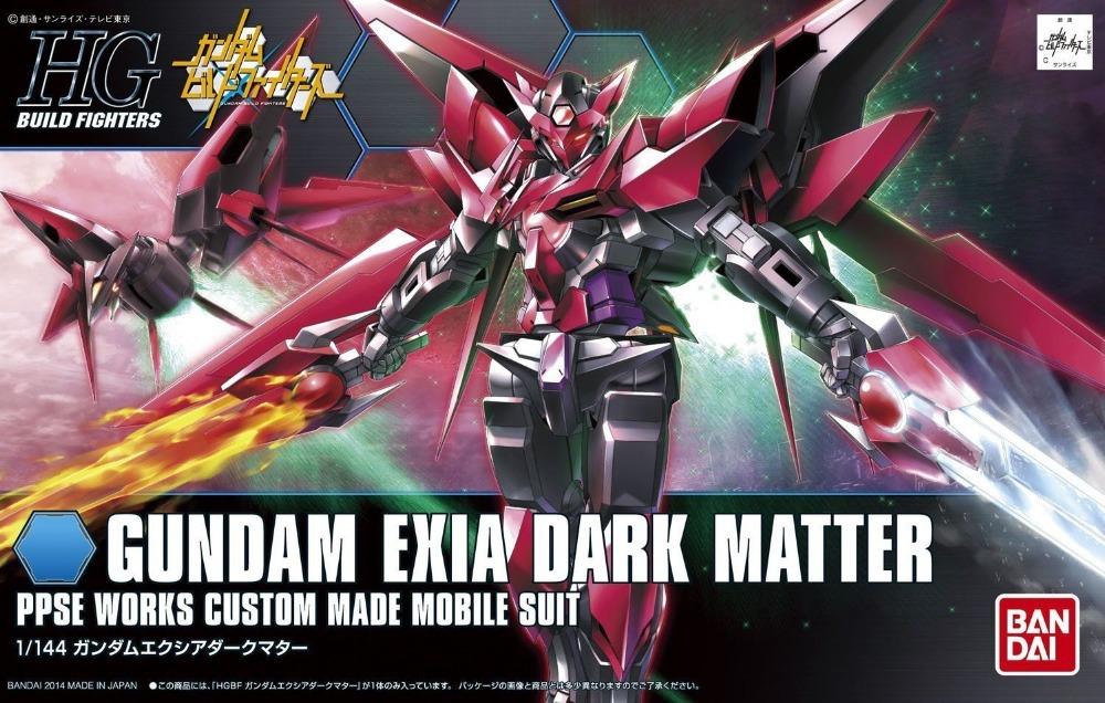 HGBF 1/144 PPGN-001 ガンダムエクシアダークマター [Gundam Exia Dark Matter] 0186524 5058791