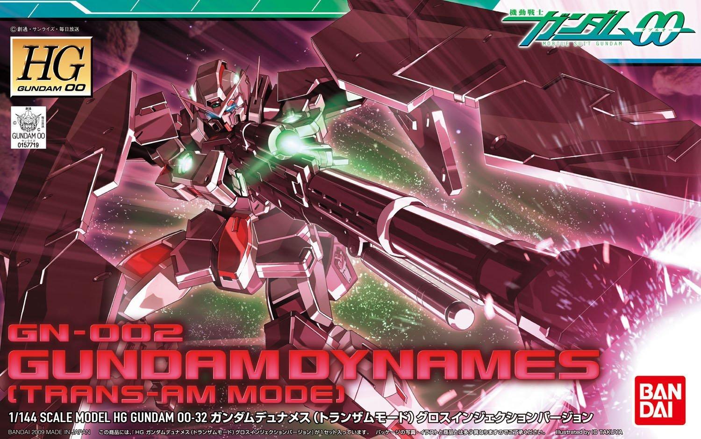 HG 1/144 GN-002 ガンダムデュナメス(トランザムモード)グロスインジェクションバージョン [Gundam Dynames Trans-Am Mode]